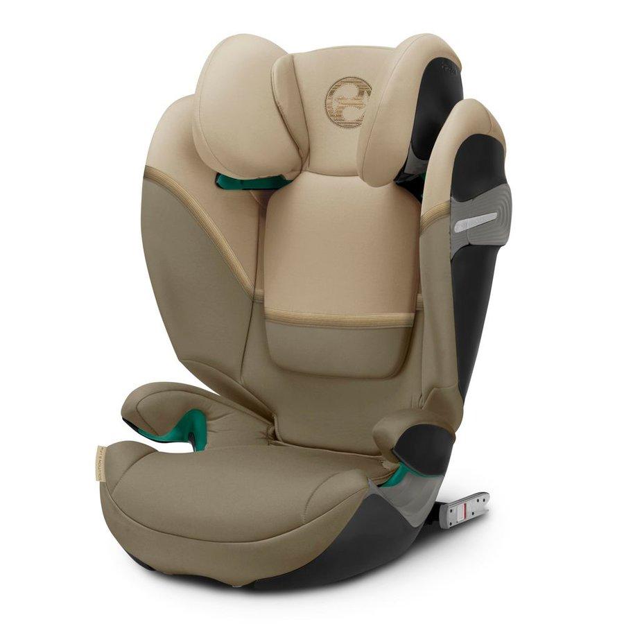 Béžová dětská autosedačka Solution, Cybex - nosnost 36 kg