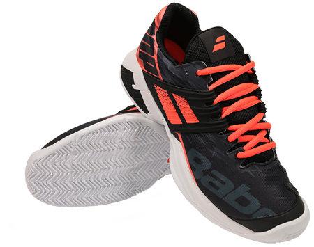Černá pánská tenisová obuv Propulse Fury Clay, Babolat - velikost 40,5 EU