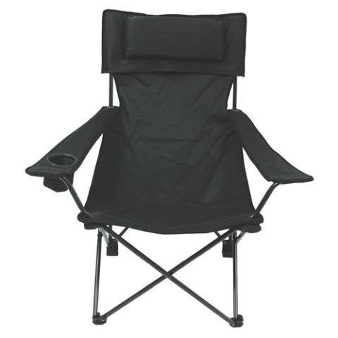 Kempingová židle - Křeslo skládací DELUX ZELENÉ