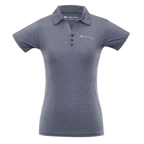 Modrá dámská polokošile s krátkým rukávem Alpine Pro
