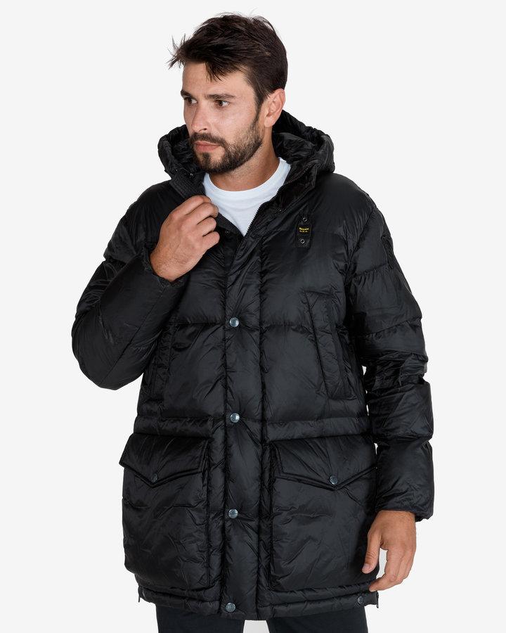 Černá zimní pánská bunda Blauer - velikost XXL