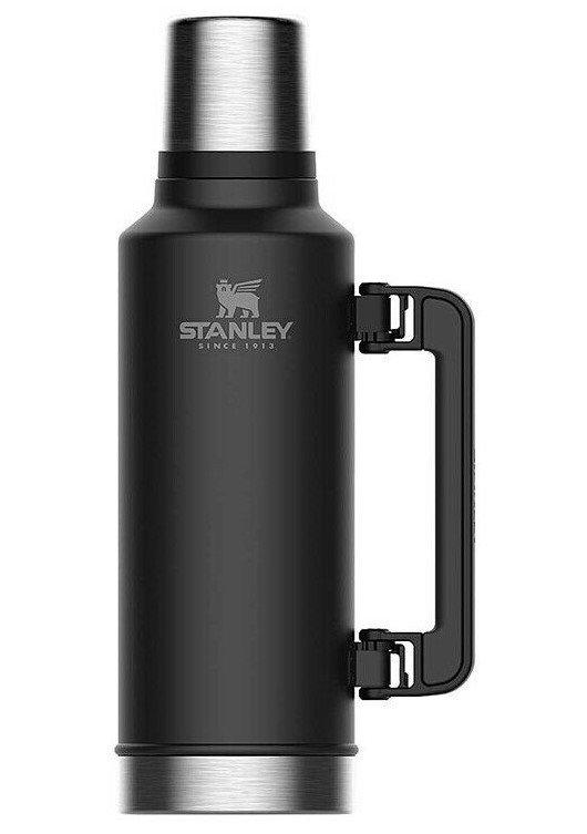 Černá termoska na pití Stanley - objem 1,9 l