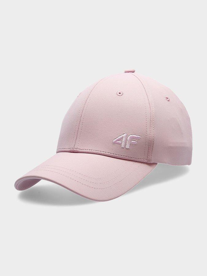 Růžová dámská kšiltovka 4F - velikost S