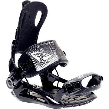 Černé vázání na snowboard SP Bindings - velikost M