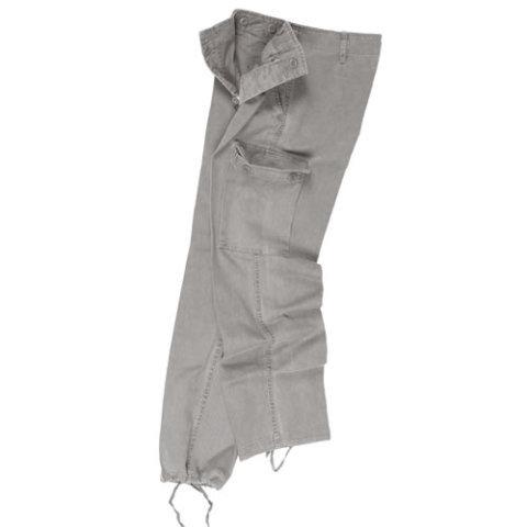 Kalhoty - Kalhoty BW typ moleskin předeprané ŠEDÉ