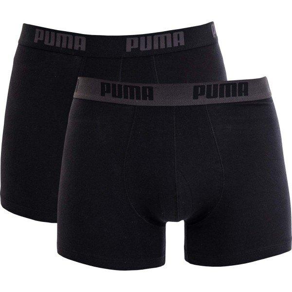 Černé pánské boxerky Puma - 2 ks