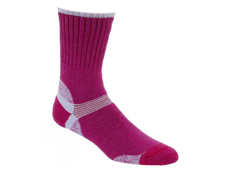 Růžové dámské trekové ponožky Bridgedale