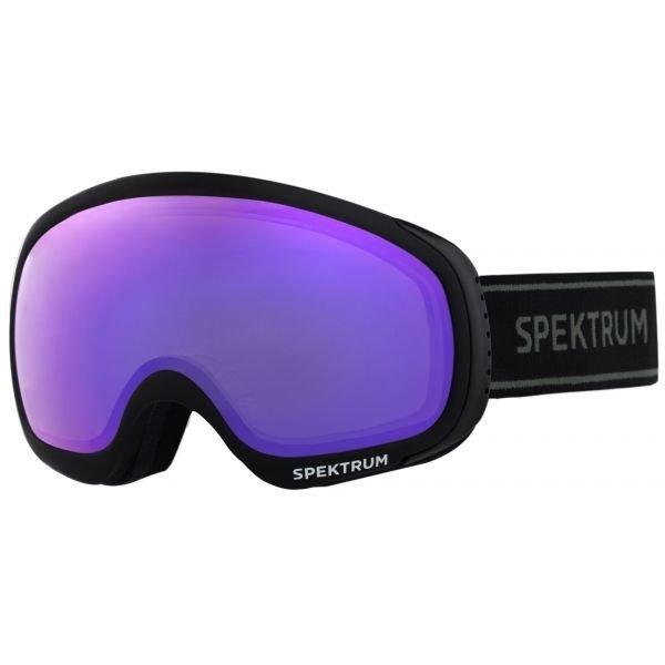 Černé dětské lyžařské brýle Spektrum