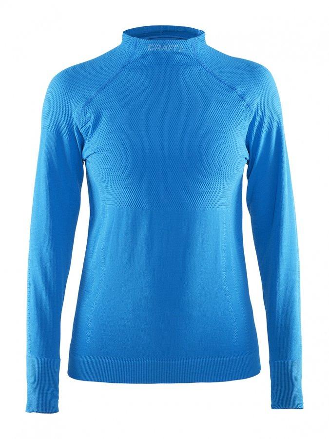 Modré dámské funkční tričko s dlouhým rukávem Craft - velikost M