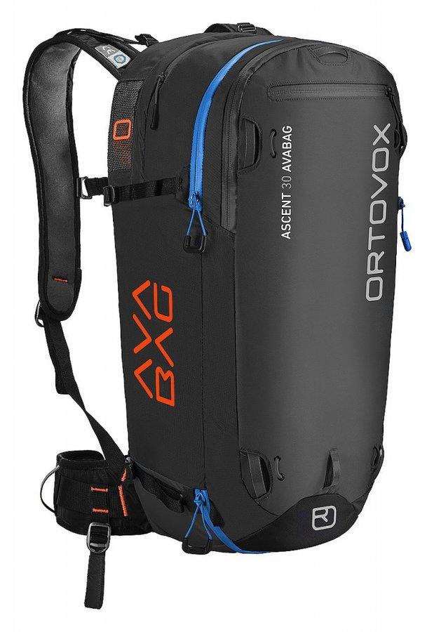 Černý lavinový skialpový batoh Ortovox - objem 30 l