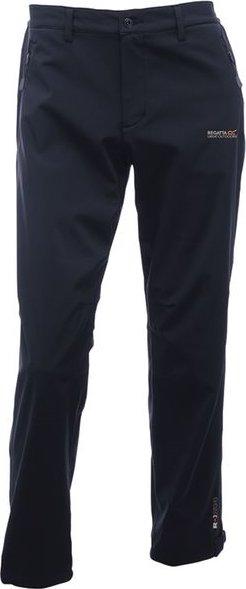 Černé softshellové zimní pánské kalhoty Regatta