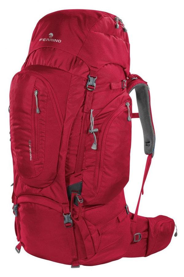 Batoh - Batoh Ferrino Transalp 60 (2020) Barva: červená
