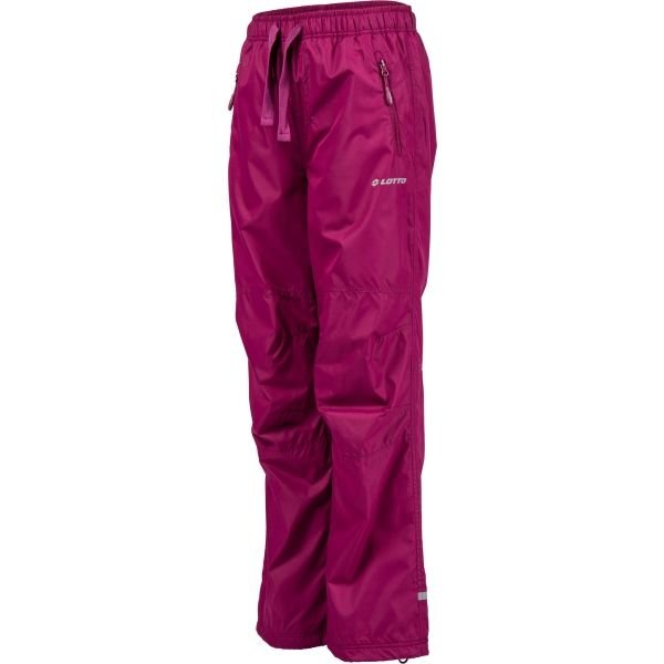 Růžové dětské lyžařské kalhoty Lotto