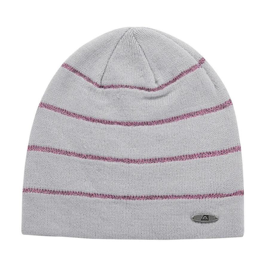 Šedá dětská zimní čepice Alpine Pro