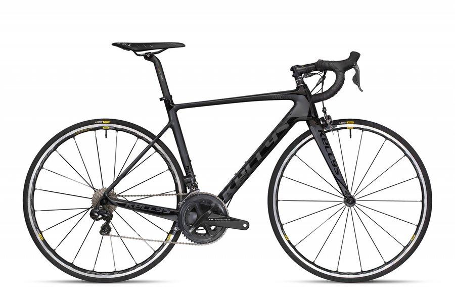 Černý silniční pánský bicykl Kellys