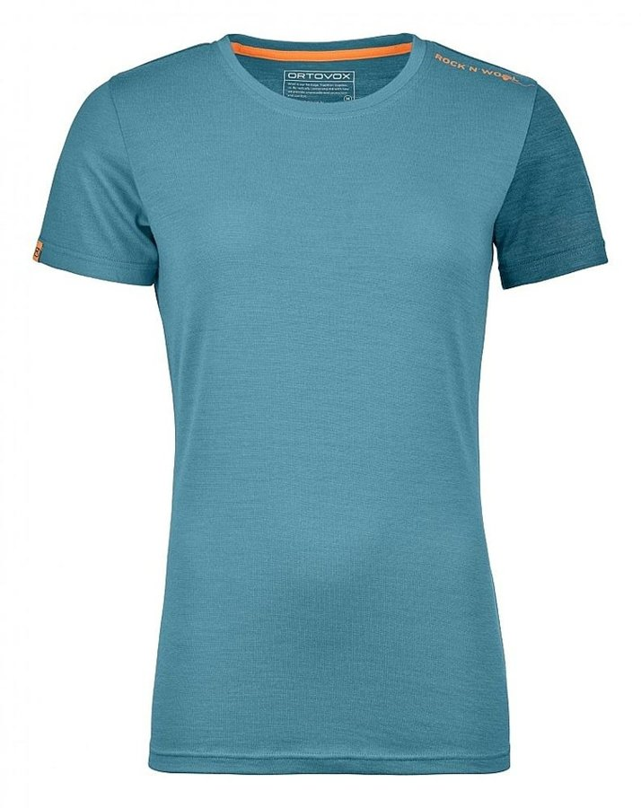 Modré dámské termo tričko Ortovox
