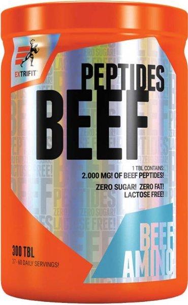 Protein - Beef Peptides - Extrifit Bez příchuti 300 tbl