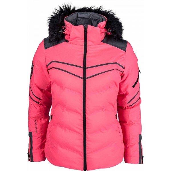 Růžová zimní dámská bunda Diel - velikost 36