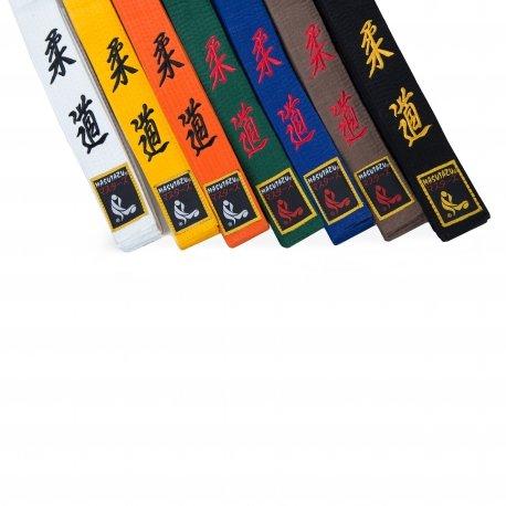 Bílý judo pásek MASUTAZU - délka 170 cm