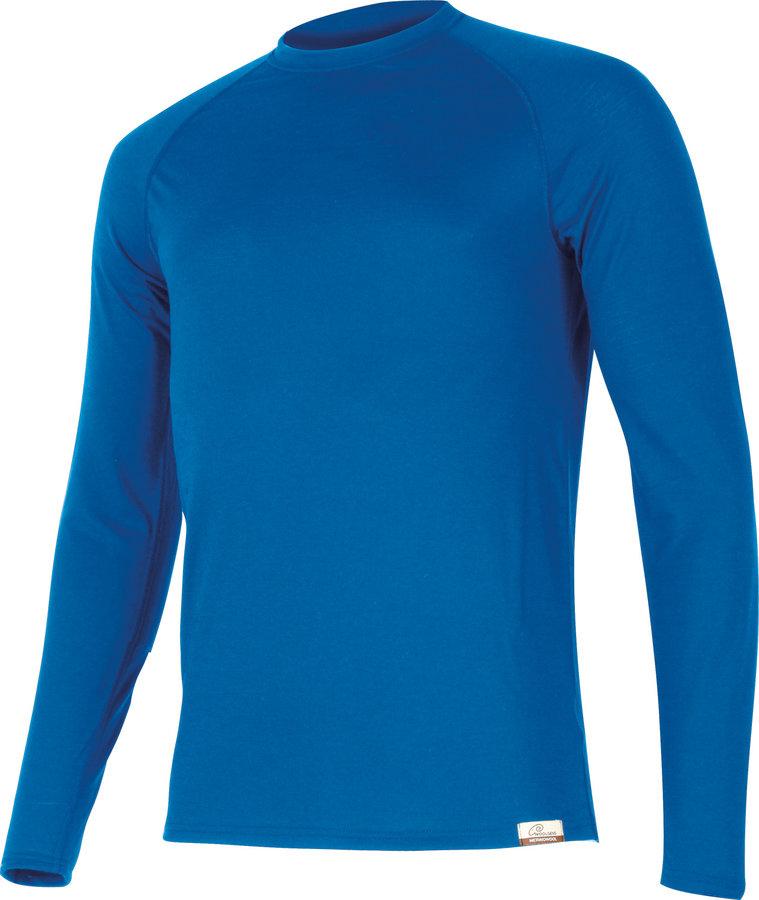 Modrá pánská mikina bez kapuce Lasting - velikost XXL