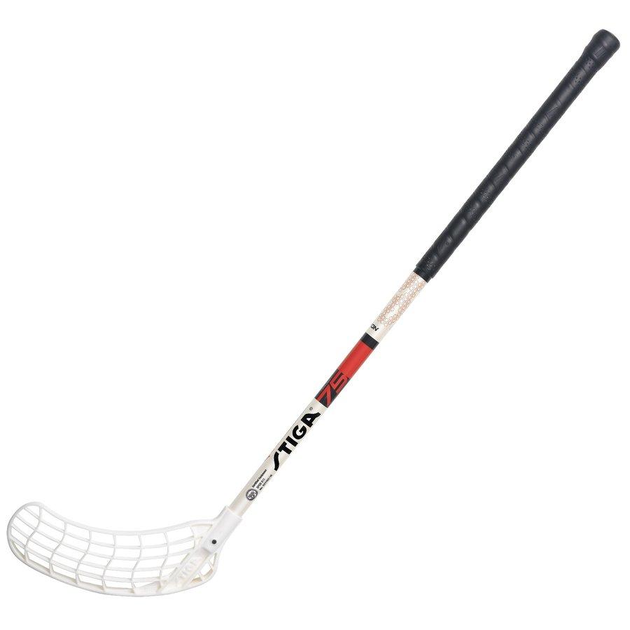 Pravá florbalová hokejka Movon, Stiga - délka 75 cm
