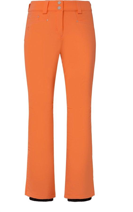 Oranžové dámské lyžařské kalhoty Descente - velikost 40