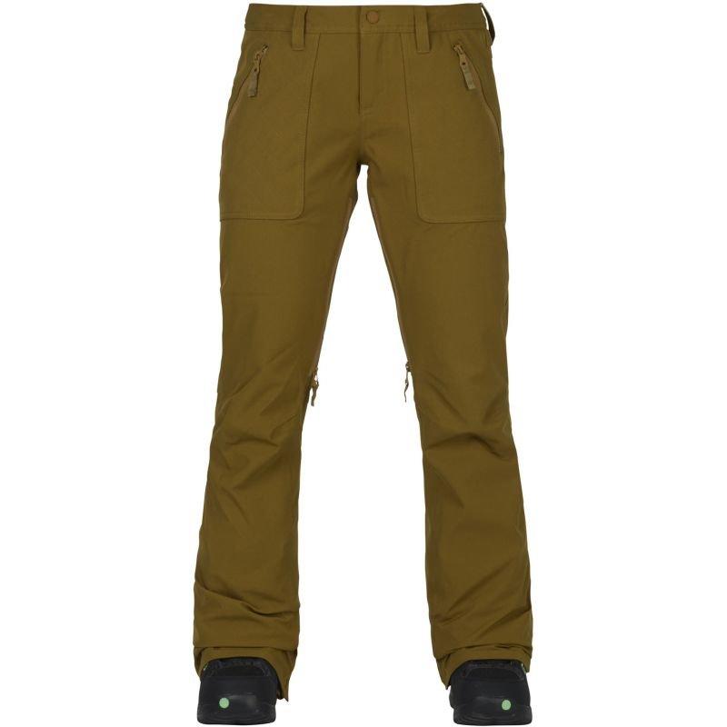 Béžové dámské snowboardové kalhoty Burton - velikost L