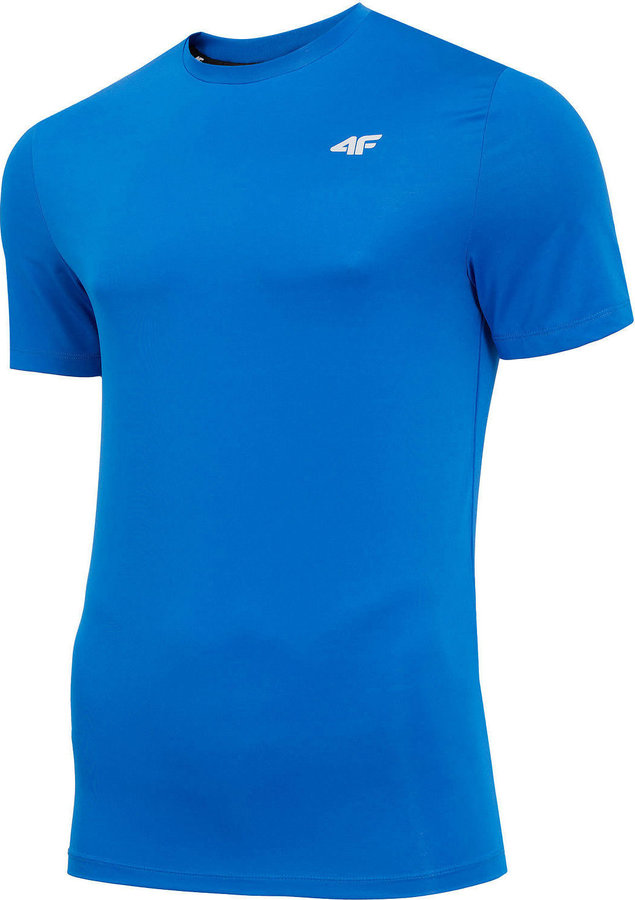 Modré pánské funkční tričko s krátkým rukávem 4F