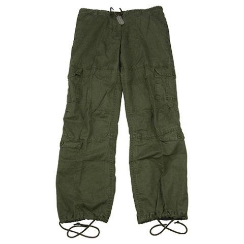 Kalhoty - Kalhoty dámské VINTAGE ZELENÉ