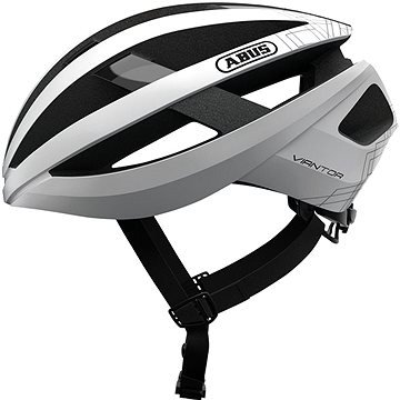 Bílá cyklistická helma ABUS - velikost L