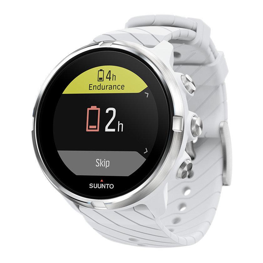 Bílé digitální sportovní chytré hodinky SUUNTO 9, Suunto