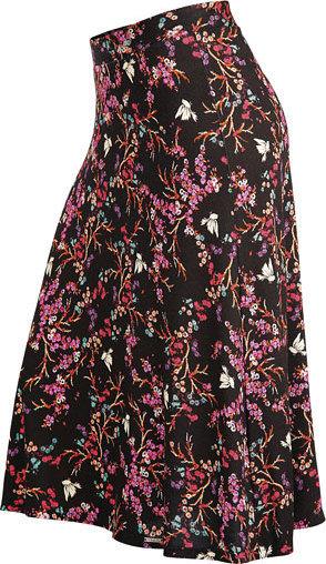 Černo-růžová dámská sukně Litex - velikost L
