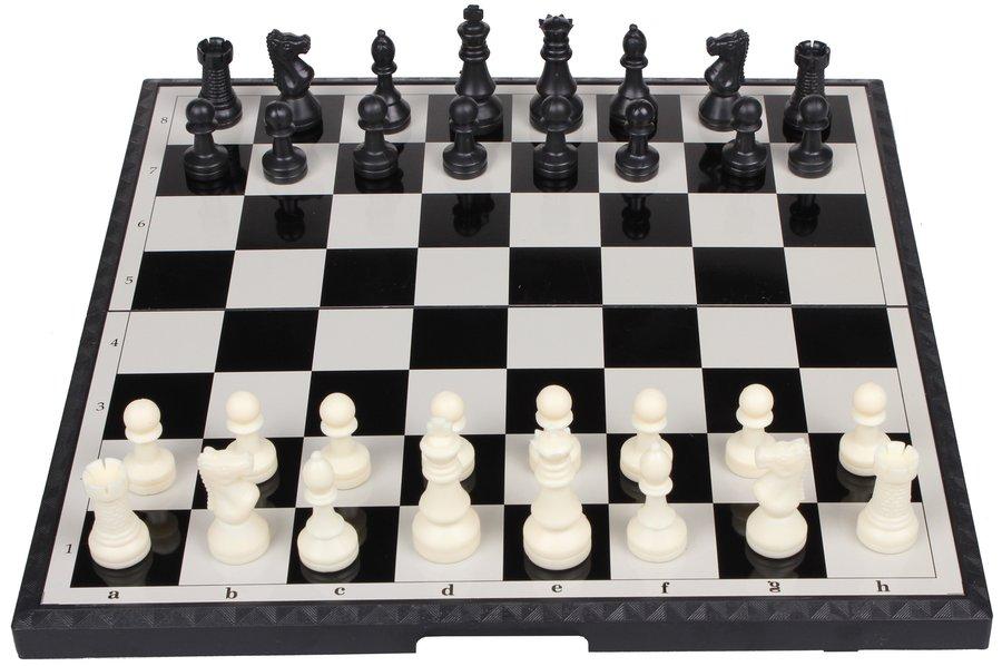 Plastové magnetické šachy Merco