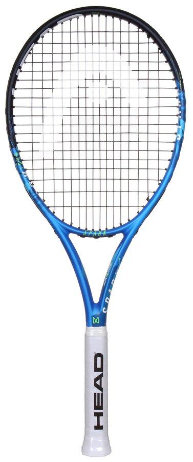 Modrá tenisová raketa Head - délka 68,5 cm
