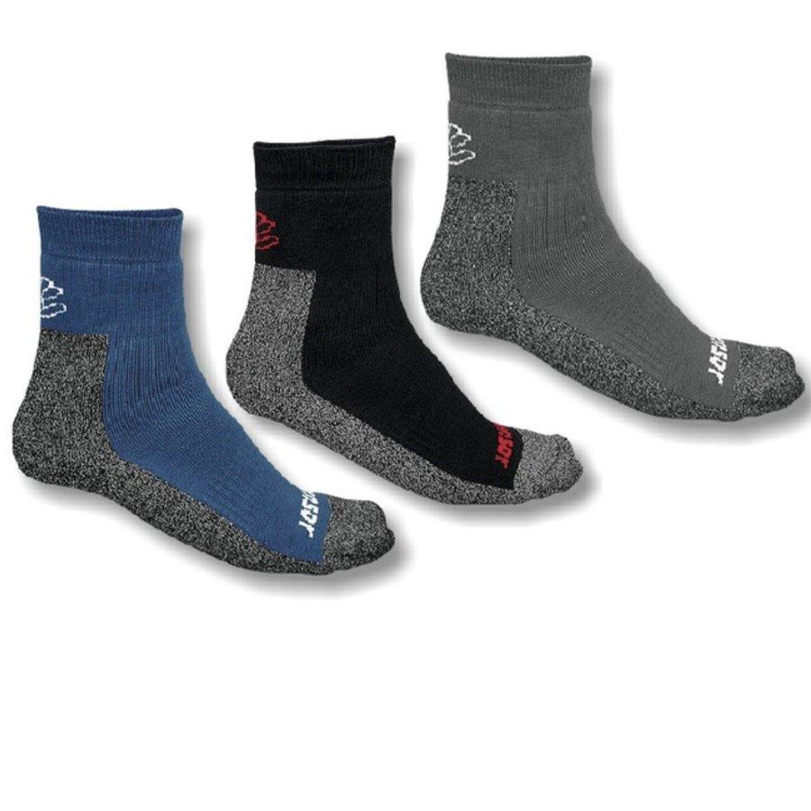 Černé, šedé nebo modré pánské trekové ponožky Treking, Sensor - velikost 35-38 EU - 3 ks
