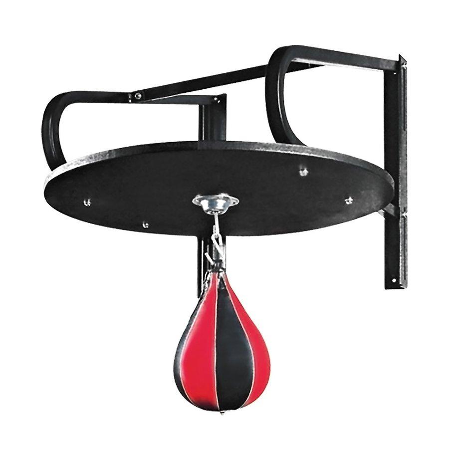 Černo-červená závěsná boxovací hruška Insportline - 9,5 kg