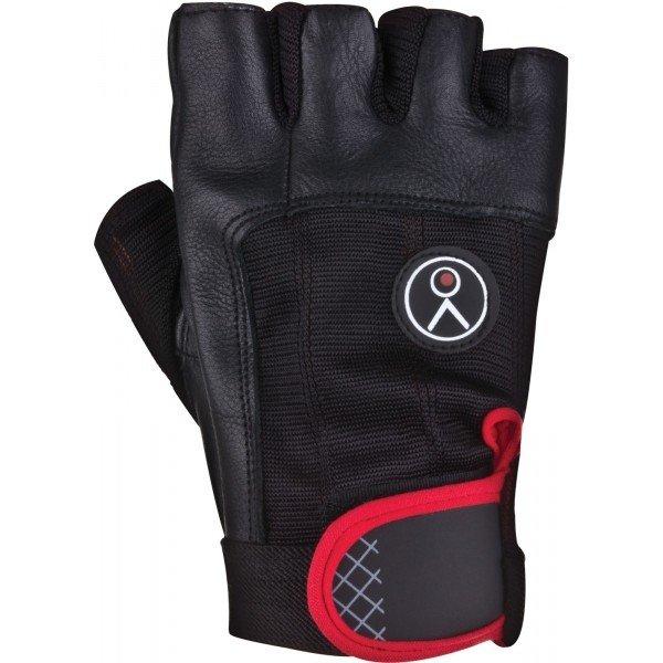 Černé pánské fitness rukavice Spokey - velikost L