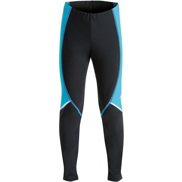 Černo-modré chlapecké kalhoty na běžky Axis