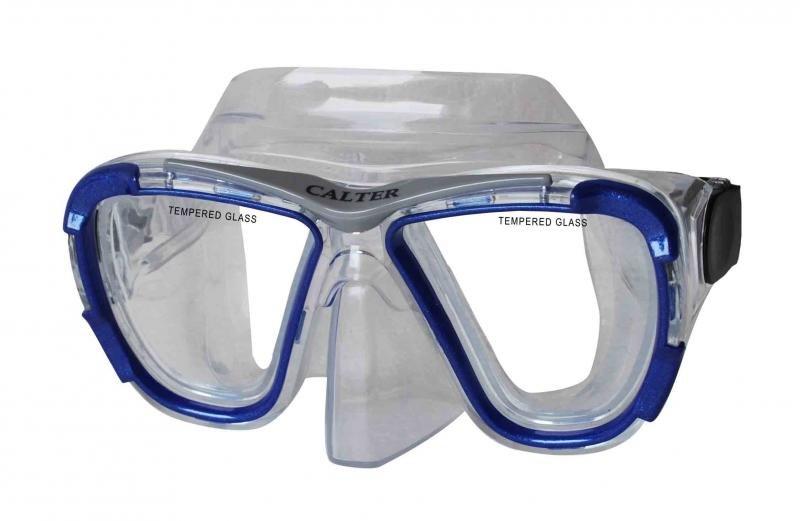 Potápěčská maska - Potápěčská maska CALTER SENIOR 238P, modrá