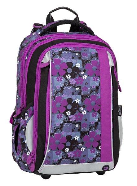Batoh - Bagmaster Mercury 8 A Black/pink/violet