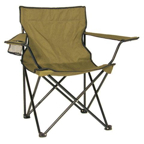 Kempingová židle - Křeslo RELAX skládací COYOTE