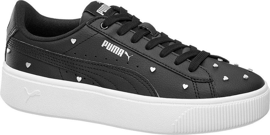 Černé dámské tenisky Puma - velikost 37 EU