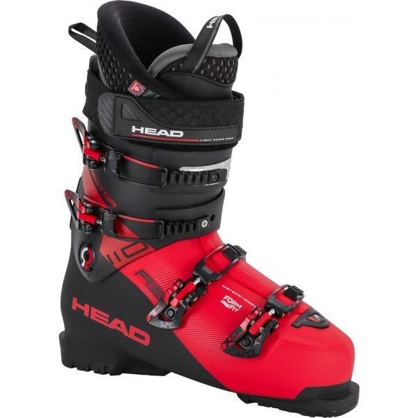 Černo-červené pánské lyžařské boty Head - velikost vnitřní stélky 31 cm