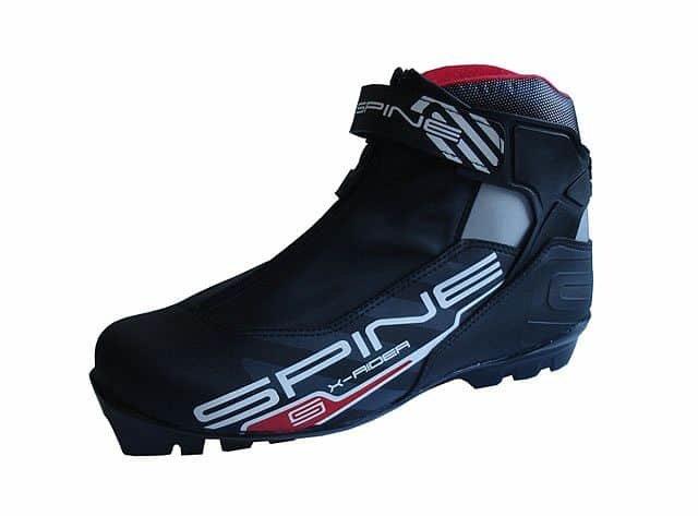 Černé boty na běžky SNS