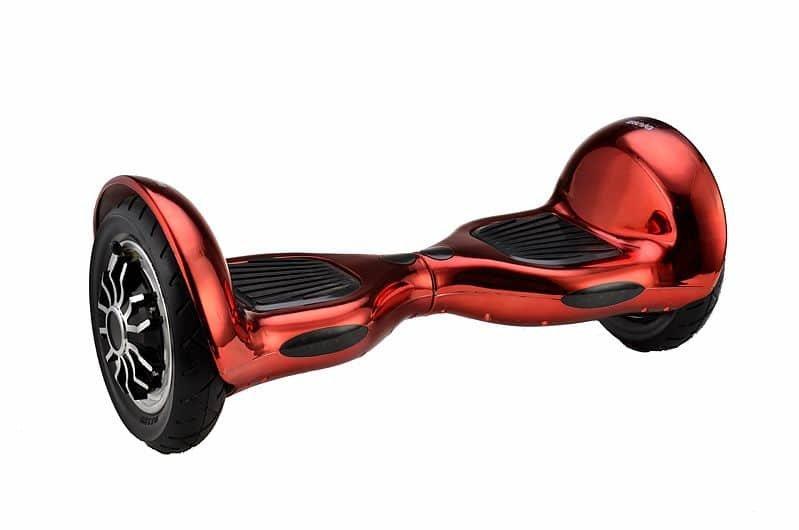 Červený hoverboard Balance Scooter, Spartan
