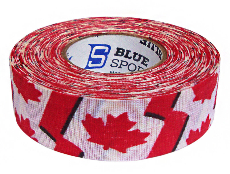 Hokejová páska - Izolace na hokejky Blue Sports Canada 18 m x 24 mm Barva: CANADA