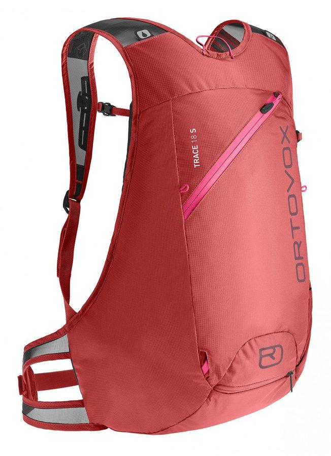 Růžový skialpový batoh Ortovox - objem 18 l