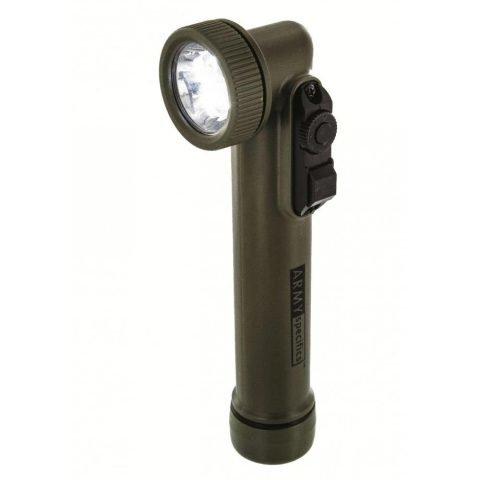 Svítilna - Svítilna GI fajfka 6 LED (3 bílé + RGB) ZELENÁ