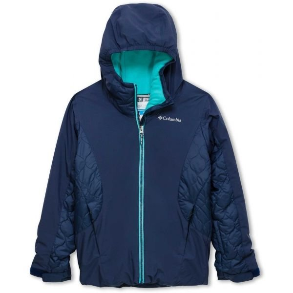 Modrá zimní dívčí bunda Columbia
