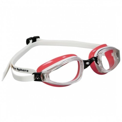 Bílo-červené plavecké brýle K180 Lady, Michael Phelps